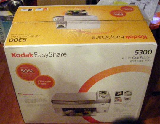 Kodak EasyShare 5300 All-in-One Printer Review   TechCrunch
