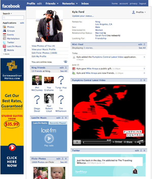 Ning Rolls Out Facebook App Builder: Embed Your Social
