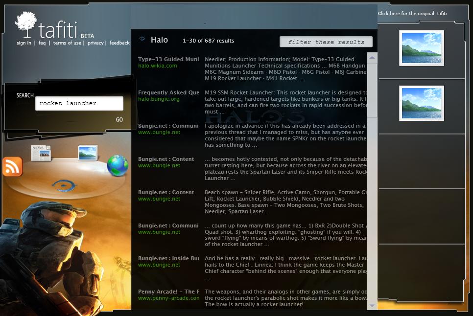 Microsoft Turns Tafiti into a Halo 3 Ad