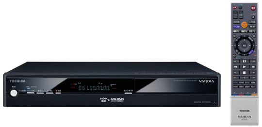 Toshiba vardia rd a301 hd dvd recorder with hdd techcrunch thats ok because toshiba is rewarding its loyal followers with the vardia rd a301 a new hd dvd player publicscrutiny Image collections