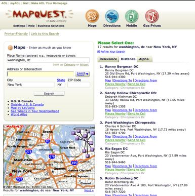 Exclusive: MapQuest Plays Catch Up With Launch of Beta | TechCrunch