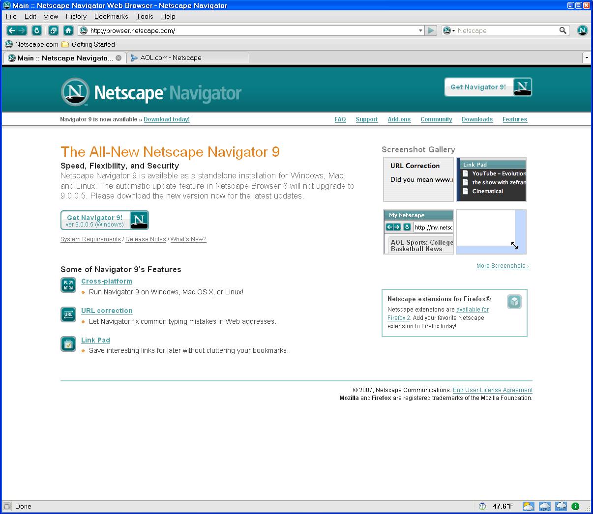 A Sad Milestone Aol To Discontinue Netscape Browser Development Techcrunch