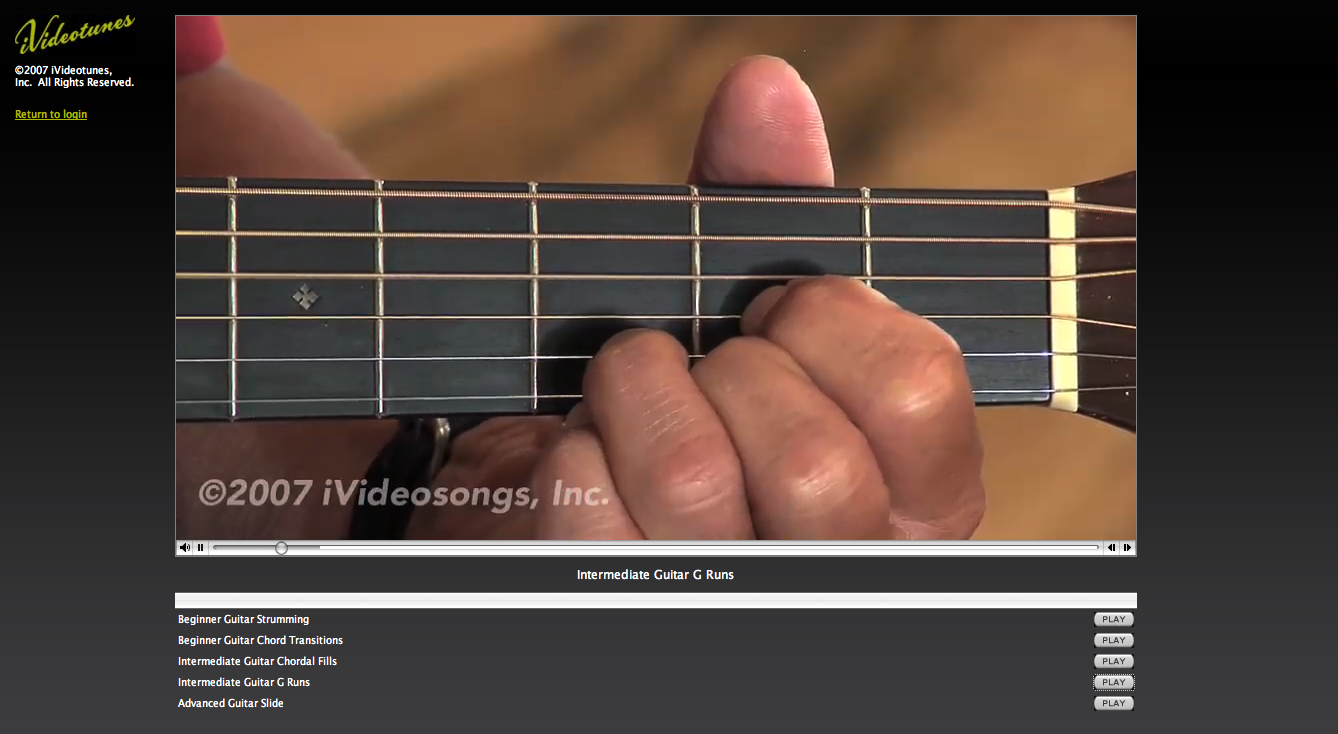 Ivideosongs Teaches You How To Be A Real Guitar Hero Techcrunch