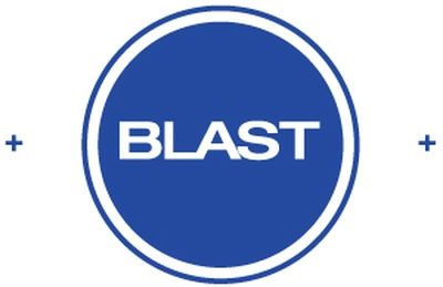 Blast Logo   bright blue