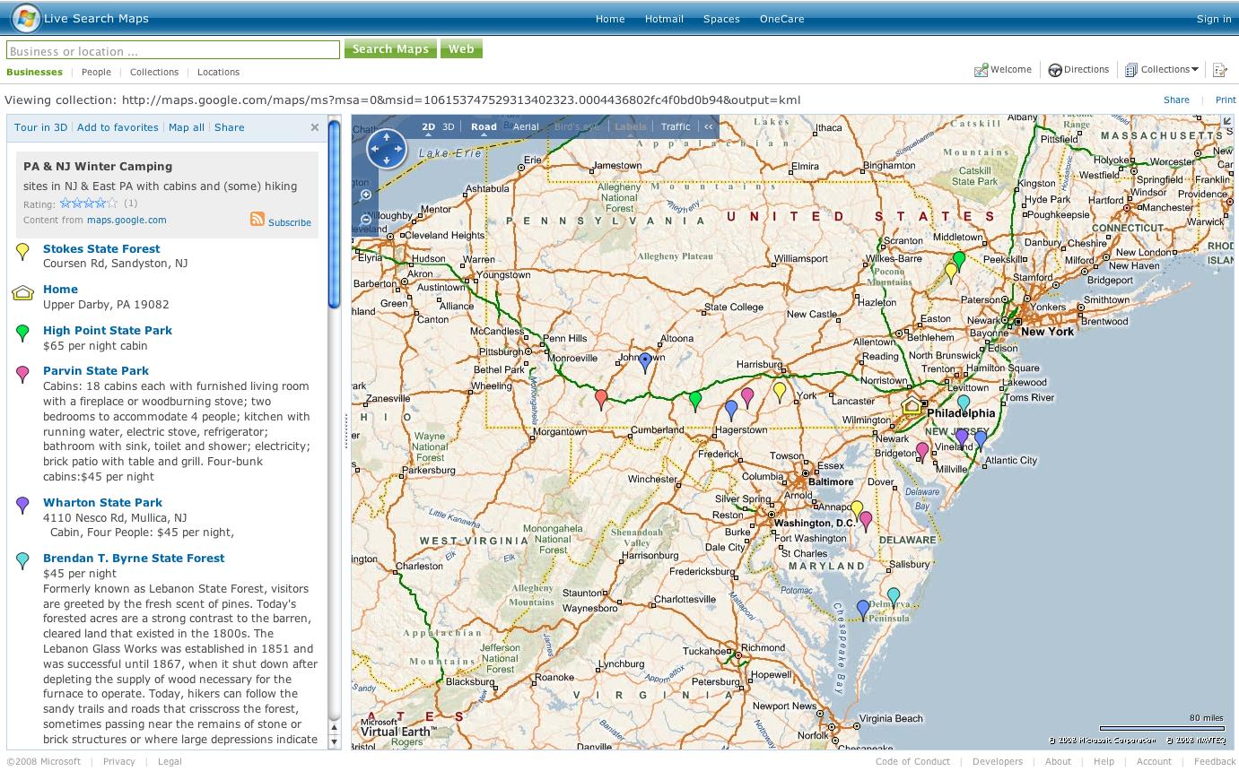 live map camping smallpng