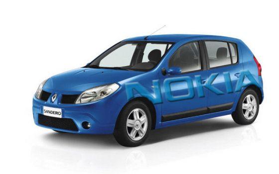 Renault + Nokia = Nokia Car for Brazil | TechCrunch