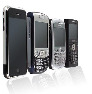 smartphones front