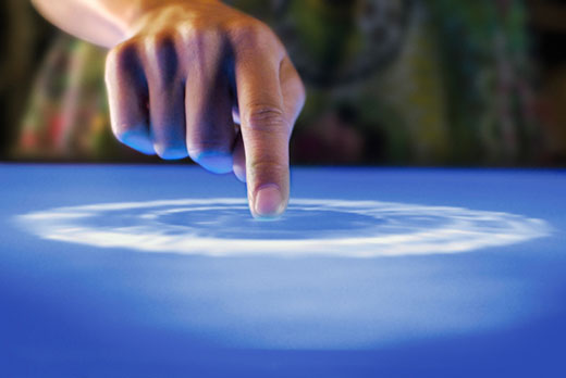 microsoft surface touch