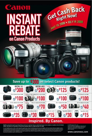 scaled.Canon EOS Rebate Offer