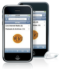 WFMU Radio on the iPhone