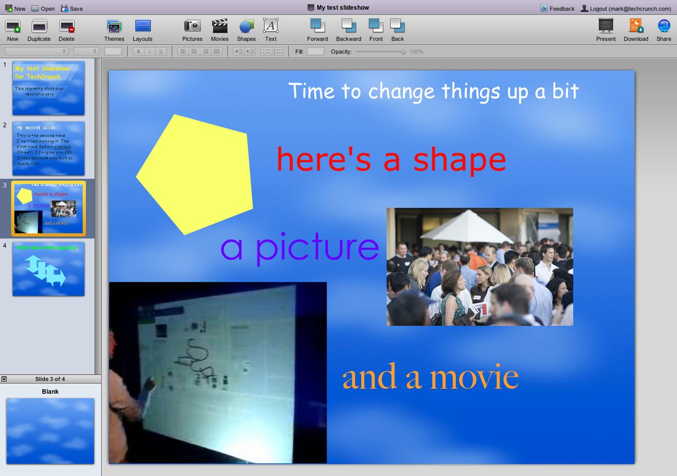 280 slides like apple keynote but online techcrunch