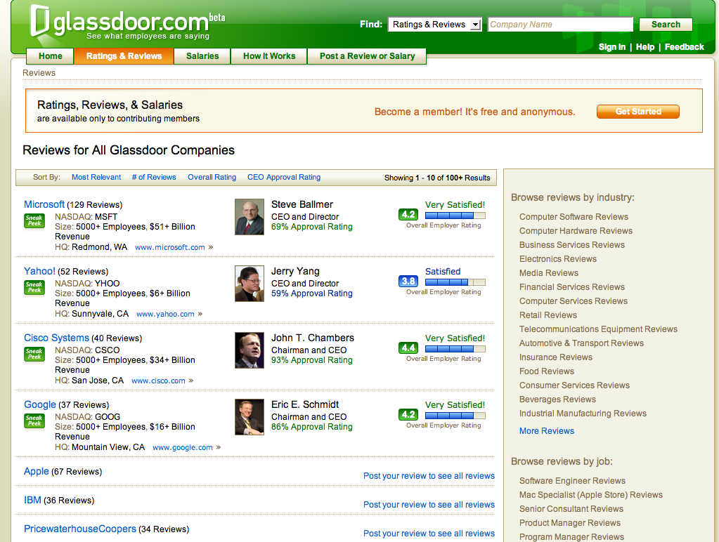 At glassdoor find out how much people really make at google glassdoor homepage smallg planetlyrics Choice Image