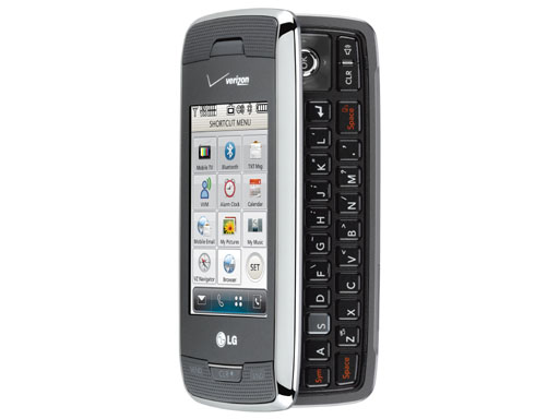 verizon launches the lg voyager titanium and the blitz techcrunch rh techcrunch com LG Cell Phones LG enV3