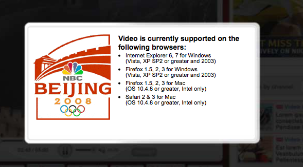 Despite NBC's Lameness, You Can Get Full Olympics Video On Your