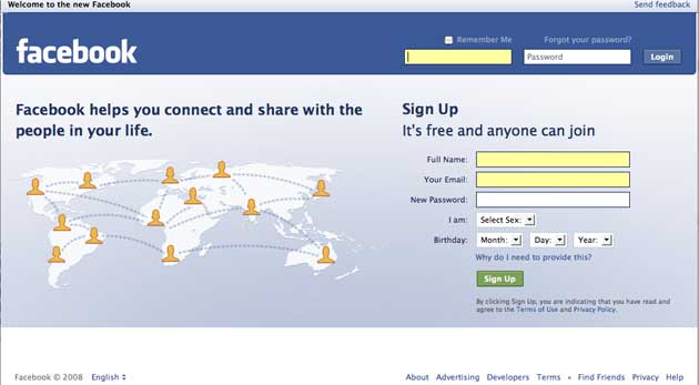 New Facebook Home Page New Facebook Tagline Means Too Many Marketing Meetings At Facebook Techcrunch