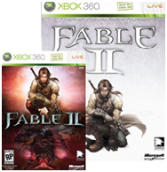 DLC cards missing from some Fable II Limited Collector's