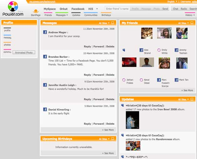 power com for social networking power users techcrunch