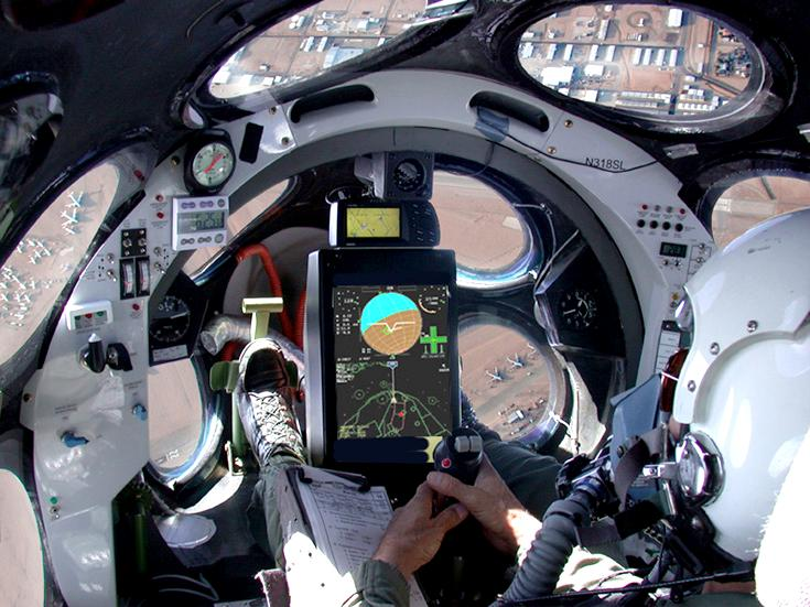 It S Just Cool Cockpit View Of Spaceshipone Techcrunch