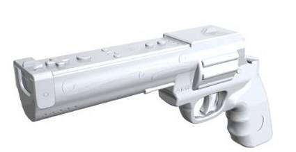 Sega S Wii Gun For House Of The Dead Overkill Can T Be Got In