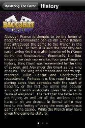 baccarat history
