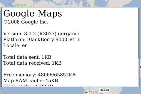 Latest Google Maps update unlocks BlackBerry Storm's GPS