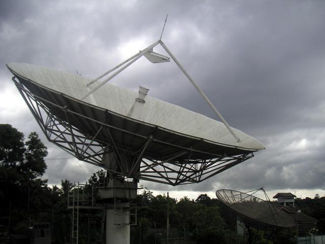 radar dish