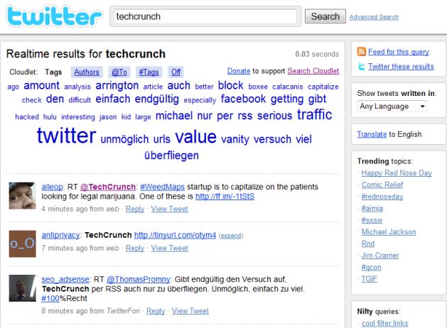 Firefox Extension Search Cloudlet Brings Integrated Tag-Based Search