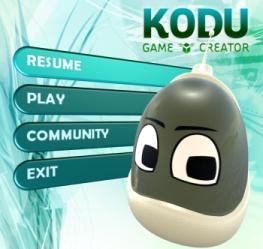 kodu-start-screen