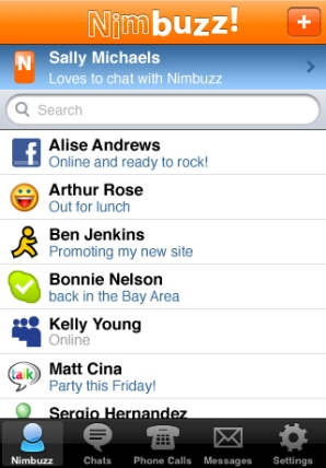 Nimbuzz Pushes New iPhone VoIP App, Supports Calling Over 3G