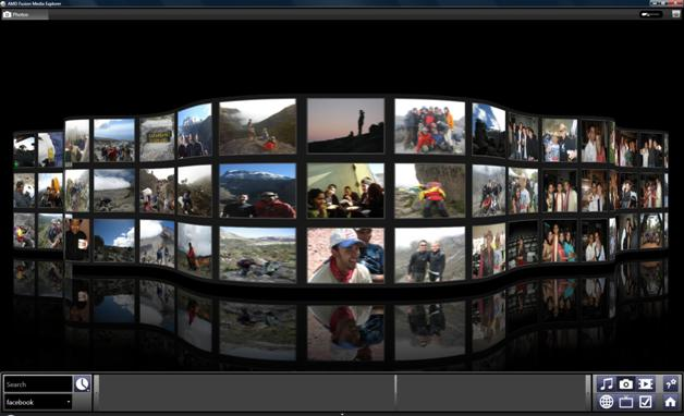 3D Media Browser AMD