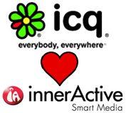 innerActive & icq