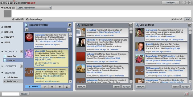 Seesmic Unveils A Formidable New Twitter Client To Rival Tweetdeck