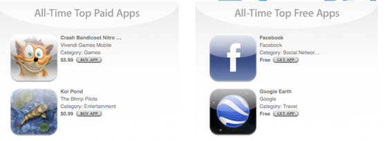 Apple Offers Another Fleeting Glimpse At The App Store's All