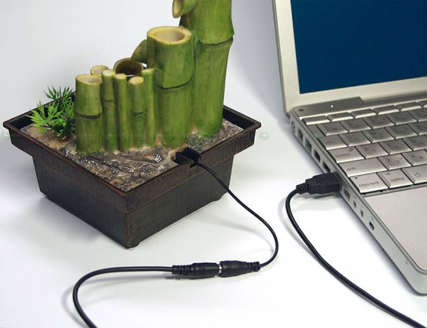 Superior A Company Called Japan Trust Technology Is Selling A Mini Japanese Style  Garden [JP] (OK, Itu0027s Just A Couple Of Plastic Bamboos) That Includes A  Watering ...