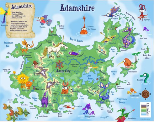 Kidlandia personalizes fantasy maps for kids techcrunch kidlandia personalizes fantasy maps for kids gumiabroncs Gallery