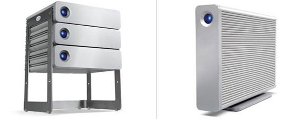Lacie Intros The Big Disk D2 Network Nas Both Are Time