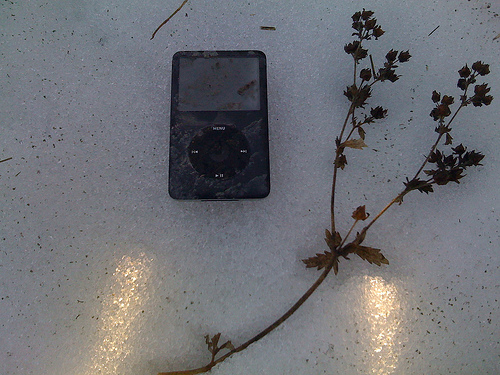 iPod in the Snow, by Bad Robot