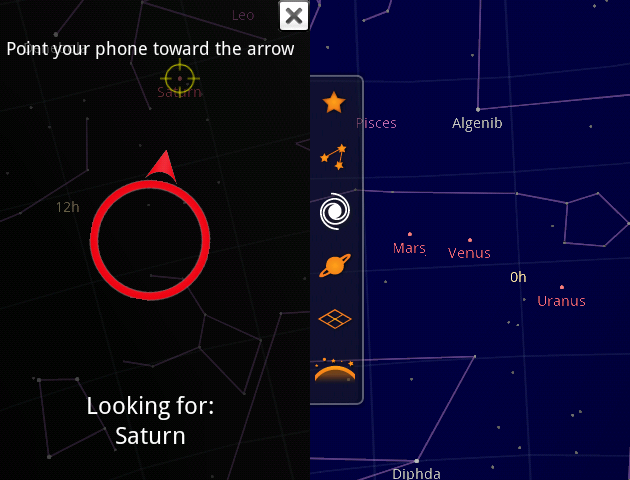 Google Sky Map: portable astronomy on your G1 | TechCrunch on