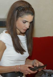 Her Majesty Queen Rania Tweeting