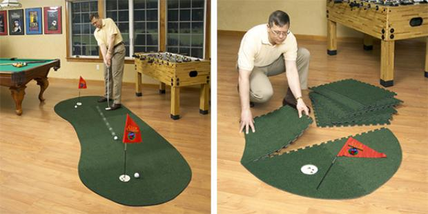 Modular indoor putting green is like giving yourself \'The Stranger ...