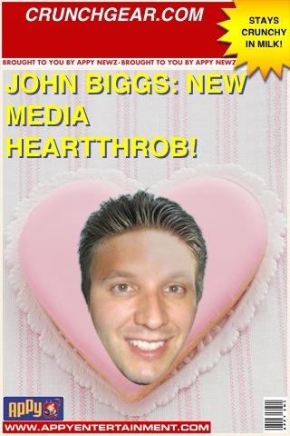 John Biggs: New Media Heartthrob