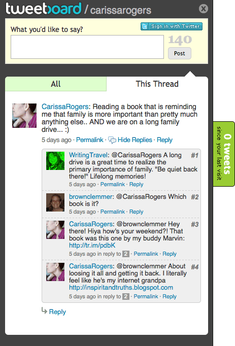 Bring Twitter Talk To Your Site With Tweetboard | TechCrunch