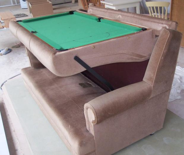 Old Sofa Hides Pool Table Underneath Cushions Techcrunch