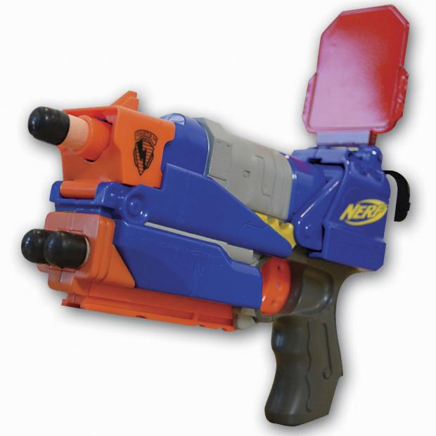 Found this sitting in my room. It was my first nerf gun ever, so many  memories behind this thing ...
