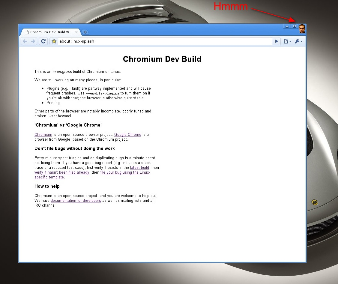Chrome's New Feature: Click The UI Designer To Close The