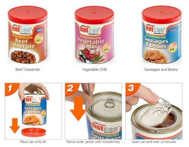 Hotcans Self Heating Canned Food Techcrunch