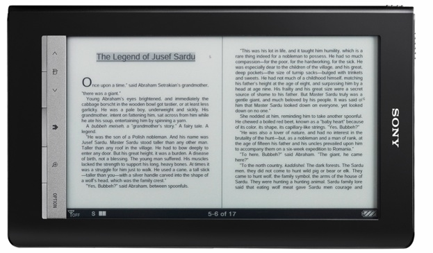 Sony And Google Try To Take On The Kindle With Open Books   TechCrunch