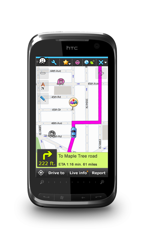 Waze Turns Turn-By-Turn Navigation And Mapmaking Into A Free