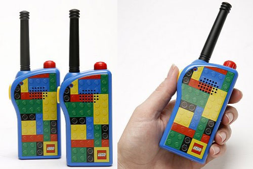 Real LEGO blocks are not used in these walkie talkies | TechCrunch