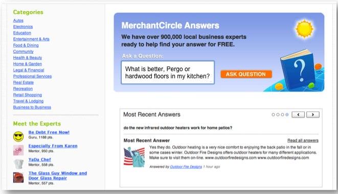 Hyperlocal Business Directory MerchantCircle Launches